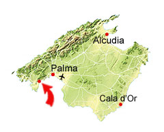 Palma Nova kort