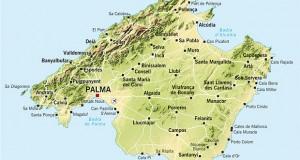 Mallorca kort