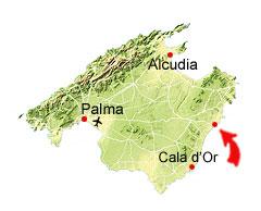 Porto Cristo kort